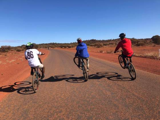 cycling development foundation, the laverton project, WA, western australia